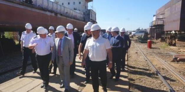 Заместитель секретаря Совета безопасности РФ Сергей Вахруков: «Строительство новой высокотехнологичной судоверфи  в Жатае необходимо!»