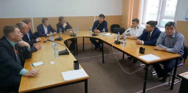 Представители фирмы  Orange Business Services посетили ОАО «ЛОРП».
