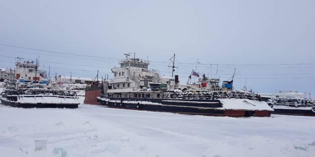 На Жатайской базе начаты выморозчные работы.