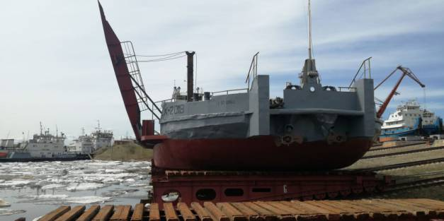 Модернизированный «СК-2018» спущен на воду