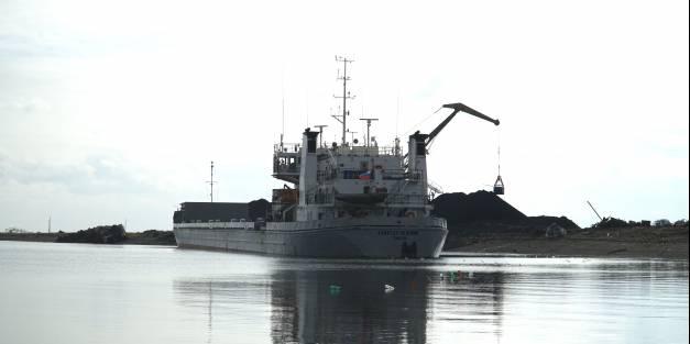 Фоторепортаж: «Капитан Пашнин» участвует в Северном завозе