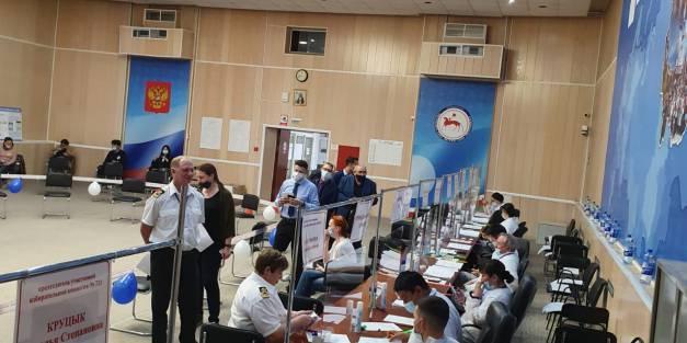 Коллектив ПАО «ЛОРП» активно голосует на выборах.