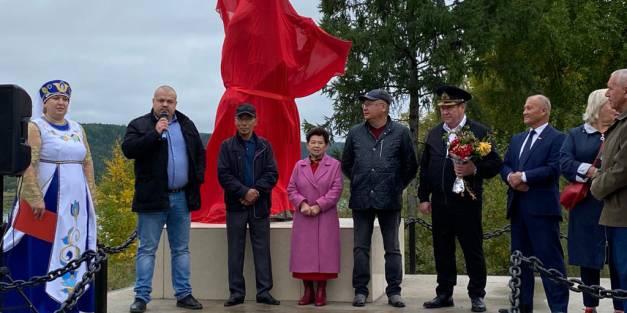 ПАО «ЛОРП» к 400-летию Витима подарило памятник основателю  Пантелеймону Пянде.