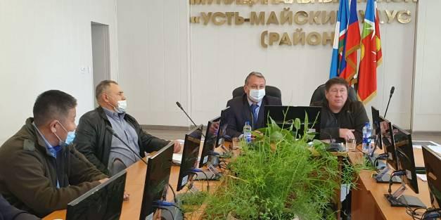 Сергей Ларионов посетил Усть-Майский район.